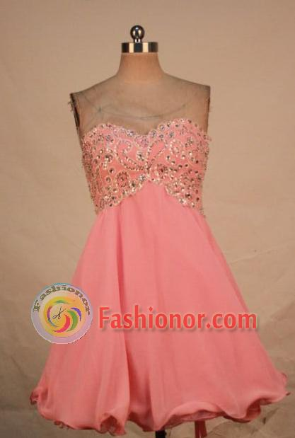 Lovely A-line Sweetheart-neck Mini-length Short Quinceanera ...