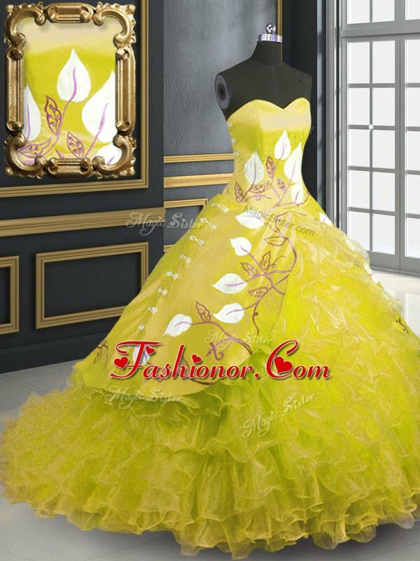 Yellow Military Ball Dresses