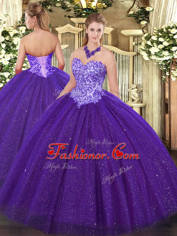 Low Price Tulle Sleeveless Floor Length Ball Gown Prom Dress and Beading
