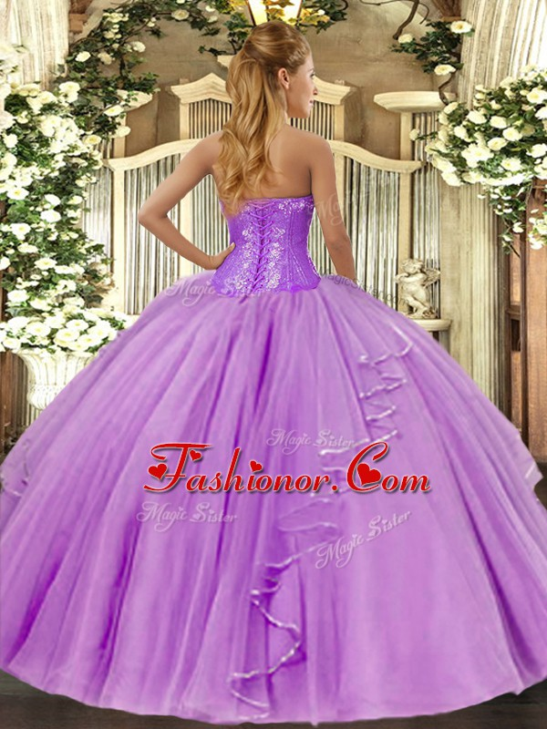 Beautiful Ball Gowns Vestidos de Quinceanera Coral Red Sweetheart ...