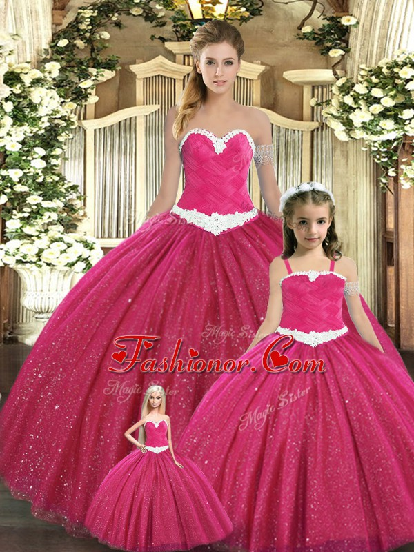 Sumptuous Red 15th Birthday Dress Military Ball and Sweet 16 and Quinceanera with Ruching Sweetheart Sleeveless Lace Up