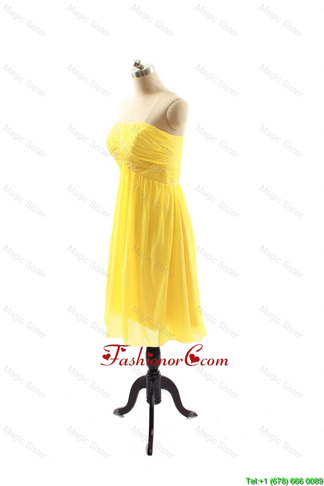 Used Yellow Prom Dresses 5
