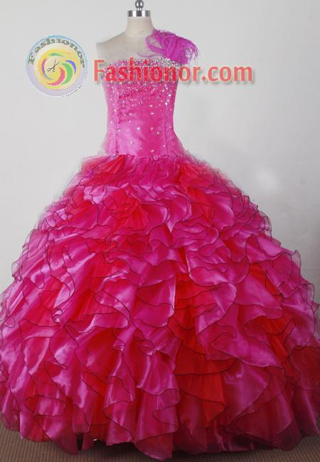 2012 Exquisite Ball Gown Strapless Floor-length Flower Girl Dress Style RFGDC036