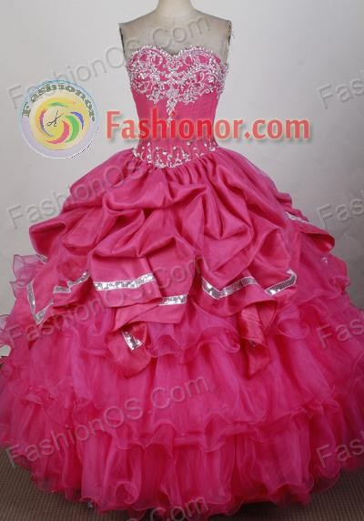 2013 Unique Ball Gown Sweetheart Floor-Length Quinceanera Dresses Style JP42676