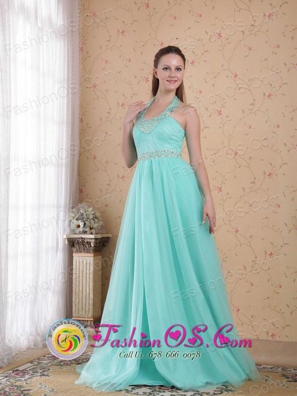Teal Prom Dresses 2013 2013 Teal Prom Dress Halter