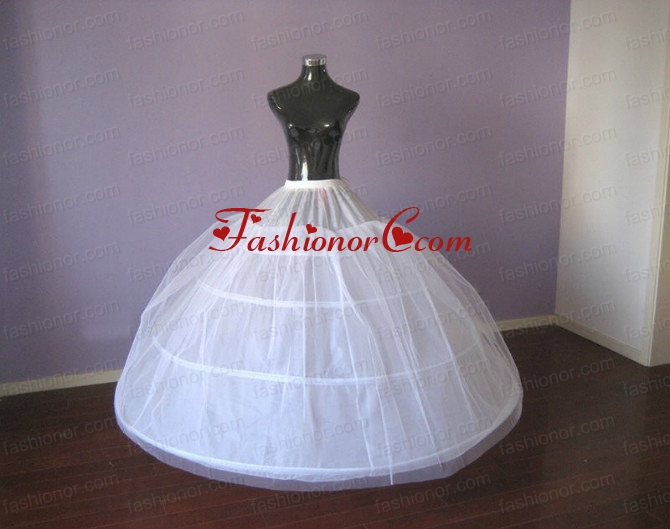 Hot Selling Big Puffy Ball Gown Floor Length Petticoat ACCPTI003FOR ...