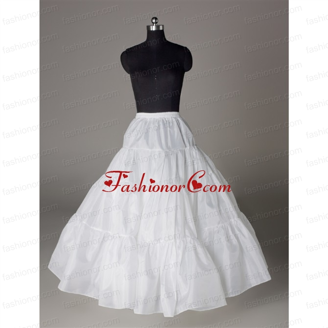 Luxurious Organza Ball Gown Floor-length White Petticoat ACCPTI005FOR