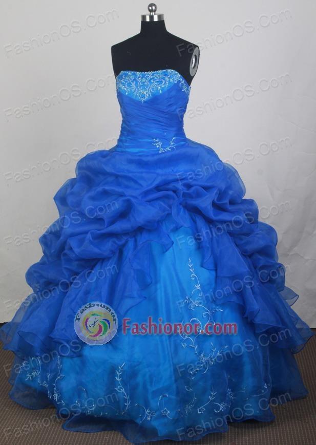 2012 Best Ball Gown Strapless Floor-Length Quinceanera Dresses ...
