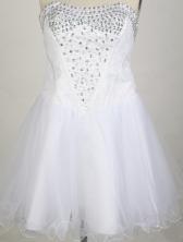 2012 New A-line Strapless Mini-Length Prom Dresses WlX426109