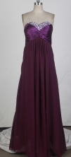 Affordable Empire Sweetheart Floor-length Burgundy Prom Dress LHJ42829