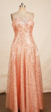 Gorgeous Empire Sweetheart-neck Floor-length Beading Prom Dresses Style FA-C-141