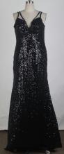 Popular Column V-neck Mini-Length Prom Dresses WlX426122