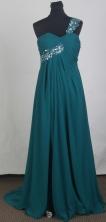 Simple Empire One Shoulder Brush Prom Dress LHJ42846
