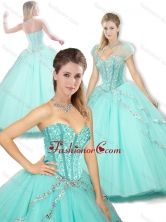2016 Pretty Sweetheart Beading Quinceanera Dresses for Spring SJQDDT255002FOR
