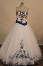 Beautiful A-line Sweetheart Floor-length Vintage Quinceanera Dresses TD2410