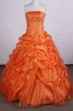 Beautiful Ball gown Strapless Floor-length Quinceanera Dresses Appliques with Beading Style FA-Z-002
