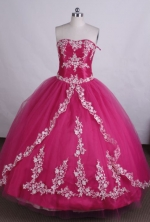 Beautiful Ball gown Sweetheart Floor-length Quinceanera Dresses Style LZ42487