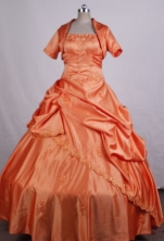 Brand New Ball Gown Strapless FLoor-Length Quinceanera Dresses Style LZ42476