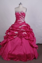 Brand New Ball Gown Strapless FLoor-Length Quinceanera Dresses Style FA-S-068