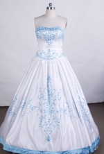 Elegant Ball gown Sweetheart Floor-length Vintage Quinceanera Dresses TD2425