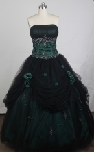 Exclusive Ball Gown Strapless Floor-length Vintage Quinceanera Dress LZ426008