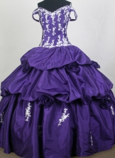 Exquisite Ball Gown Off The Shoulder  Floor-length Quinceanera Dress ZQ12426080