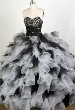 Exquisite Ball gown Sweetheart Floor-length Quinceanera Dresses Style FA-W-r73