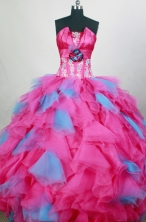 Exquisite Ball gown Sweetheart Floor-length Quinceanera Dresses Style FA-W-r81