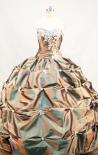 Fashionable Ball gown Strapless Floor-Length Quinceanera Dresses Style FA-Y-161