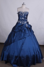 Lovely Ball gown Sweetheart Floor-length Vintage Quinceanera Dresses TD2420