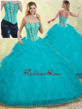 Luxurious Puffy Sweetheart Detachable Quinceanera Dresses with Beading SJQDDT253002-1FOR