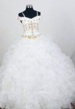 Perfect Ball Gown Straps Floor-length Quinceanera Dress ZQ12426085