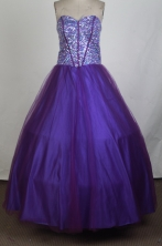 Perfect Ball Gown Sweetheart Floor-length Vintage Quinceanera Dress ZQ12426033