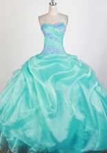 Pretty Ball Gown Sweetheart Floor-length Quinceanera Dress ZQ12426061