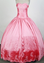 Pretty Ball Gown Sweetheart Floor-length Quinceanera Dress ZQ12426068