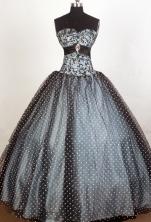 Pretty Ball Gown Sweetheart Floor-length Quinceanera Dress ZQ12426075