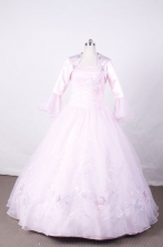 Sweet Ball Gown Strapless FLoor-Length Quinceanera Dresses Style L42410