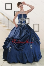 Trendy Sweetheart Quinceanera Gowns with Appliques XFNAO587FOR