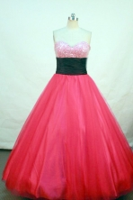 Beautiful  A-line Sweetheart Floor-length Sequins Quinceanera Dresses Style FA-Z-00126