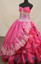 Beautiful Ball gown Sweetheart Floor-length Quinceanera Dresses Style LZ42469