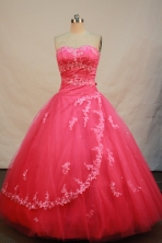 Discount Ball gown Sweetheart neck Floor-Length Quinceanera Dresses Style FA-Y-120