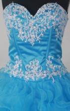 DiscountA-line Strapless Floor-length Taffeta  Quinceanera Dress Style X042604