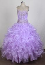 Exquisite Ball Gown Sweetheart Floor-length Quinceanera Dress ZQ12426022