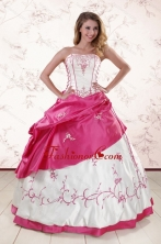 Luxurious Embroidery Sweet 15 Dresses XFNAO803FOR