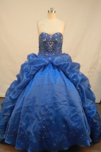 Modest Ball gown Sweetheart neck Floor-Length Quinceanera Dresses Style FA-Y-165