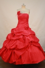 Sweet Ball gown Strapless Floor-length Quinceanera Dresses Style FA-C-105
