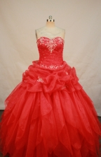 Sweet Ball gown Sweetheart neck Floor-Length Quinceanera Dresses Style FA-Y-145