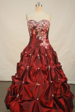 Sweet Ball gown Sweetheart neck Floor-Length Quinceanera Dresses Style FA-Y-146
