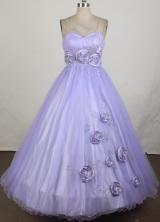 2012 Elegant Ball Gown Strapless Floor-Length Quinceanera Dresses Style JP42668