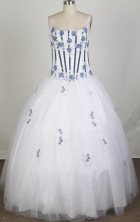 2012 Luxurious A-Line Straps Floor-Length Quinceanera Dresses Style JP42607